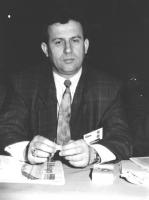 Ritratto di Ismen Ramadani (Macedonia) deputato. 36° congresso II sessione (BN)
