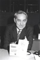 Ritratto di Aleksi Todorov (Bulgaria) (vicepresidente Okan Unity).. 36° congresso II sessione (BN)