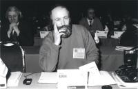 Ritratto di Gerhard Burger (Austria). 36° congresso II sessione (BN)