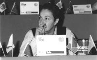 Ritratto di Laura Terni. 36° congresso II sessione (BN)