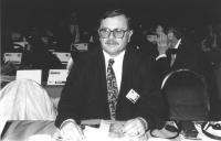 Ritratto di Umberto Bytyqi (Kosovo) deputato. 36° congresso II sessione (BN)