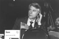 Ritratto di Ken Graham USA (segretario generale PGA). 36° congresso II sessione (BN)