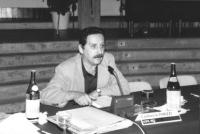 ritratto di Carduccio Parizzi, consigliere regionale Emilia Romagna (BN)