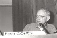 Peter Cohen (Olanda), direttore programma ricerca sulla tossicodipendenza del comune di Amsterdam. (BN)