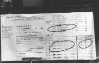"""""""Il PR ha affisso una gigantografia della pagina della relazione ufficiale della commissione parlamentare """"""""Sindona"""""""" che riproduce l'iscrizione di Si"""