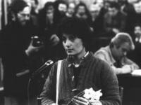 la segretaria del PR Adelaide Aglietta accetta di fare il giudice popolare in un processo contro le Brigate Rosse dopo che molti cittadini si erano ri
