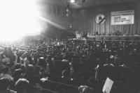 27° congresso PR. Vista della sala con Banner (BN) ottima