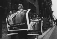 """Corteo: """"Un fiore per le donne di Kabul"""". Manifestazione dell'8 marzo contro la politica antidroga dell'ONU che finanzia il regime dei Taleban dell'Af"""