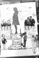 Foto di un cartellone abortista firmato MLD  (BN)