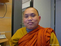 ritratto di: Rev. Karunalankar Bhikku (Rapresentative of peace Campaign)