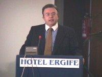 Francesco Storace (AN, presidente commissione di controllo RAI TV) interviene dalla tribuna e denuncia l'ostracismo RAI nei confronti della Lista Pann