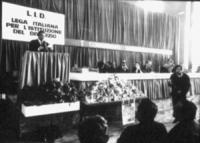 PROVINI. [6X6] 1° congresso nazionale della LID. 9 e 10 dicembre. Pannella, Fortuna, Mellini e altri. (BN) ottima, importante i provini scansionati so