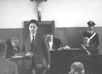 Rutelli depone al processo dove sono imputati, fra gli altri, Alfonso Navarra e Paolo Pietrosanti, per aver violato la recinzione della base missilist