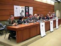 Sede onu. Conferenza di Nessuno Tocchi Caino in vista della votazione della risoluzione di moratoria della pena di Morte. Tavolo della Presidenza. Da