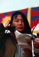 Ritratto di Wei Shan Shan. Sorella del dissidente cinese Wei Gingsheng prigioniero in Cina e liberato anche grazie alle pressioni del PR.