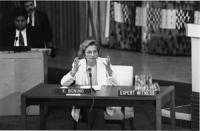 Emma Bonino (segretaria pr) interviene all'ONU sui problemi mondiali dello sviluppo, della cooperazione e della riforma del sistema dell'ONU, delegata