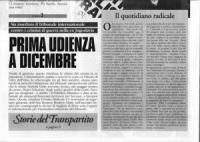 """riproduzione del primo numero di """"1994"""" periodico edito dal PR per la campagna di iscrizioni. In prima pagina (nella parte inferiore) articolo """"prima"""
