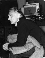 Pannella nello studio della RAI TV, poco prima della sua prima apparizione in video. Pannella Reduce da 78 giorni di digiuno perchè venisse riconosciu