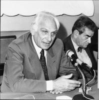 Pannella insieme a Bruno Zevi (BN)
