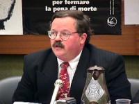 Sede onu. Conferenza di Nessuno Tocchi Caino in vista della votazione della risoluzione di moratoria della pena di Morte. Tavolo della Presidenza. Pri