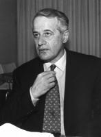 ritratto di Antonio Baldassarre, ex presidente della Corte Costituzionale (BN)