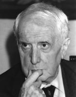 ritratto di Carlo Bo, professore universitario, senatore a Vita (BN)