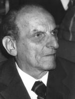 ritratto di Norberto Bobbio, filosofo, senatore a vita (BN)
