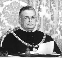 ritratto di Francesco Paolo Casavola, ex presidente della Corte Costituzionale (BN)