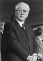 ritratto di Francesco Cossiga (DC) ex presidente della Repubblica
