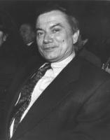 ritratto di Iseppi, direttore generale della RAI TV (BN)