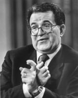ritratto di Romano Prodi, presidente del Consiglio (BN)
