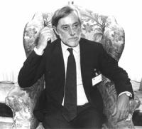 ritratto di Carlo Scognamiglio (FI) ex presidente del Senato (BN)