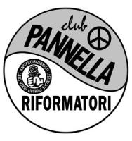 Logo del Movimento dei Club Pannella - Riformatori. Logo usato tra il 1994 e il 1997.
