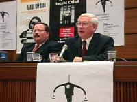 Sede onu. Conferenza di Nessuno Tocchi Caino in vista della votazione della risoluzione di moratoria della pena di Morte. Ritratto di David Atwood (Te