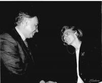 Emma Bonino con Felipe Gonzales, premier spagnolo