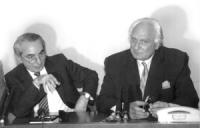 Conferenza stampa Pannella Giuliano Amato, presidente sel Consiglio. Pannela ribadisce il sostegno al Governo per le misure economiche volte al risana