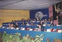 36° congresso PR II sess. Vista del palco: Martelli, Tomac, Dupuis, Bonino, Teodori, Vigevano, Pinto Busdachin ecc. (Nelle altre Martinazzoli, Spadoli