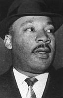 ritratto di Martin Luther King