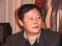 Visita del dissidente cinese Wei Jingsheng in Italia ospite del pr.  (Cina) ritratto. ottima