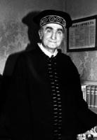 ritratto di Ettore Gallo, ex presidente della Corte Costituzionale (BN)