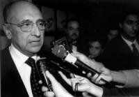 ritratto di Enzo Siciliano, presidente della RAI TV