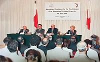 """""""International Conference for the Estabilishment of an Criminal Court by the Year 1998"""" Conferenza internazionale per l'istituzione di una corte penal"""