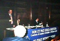 Seminario di preparazione della conferenza per l'istituzione del tribunale penale internazionale entro il 1998 Con Elisabetta Noli (delegata di Amnest