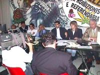 """Sciopero della sete: 13° ora.  Conferenza Stampa  """"Sciopero della sete per la libertà e la legalità dell'informazione e per la vita di Radio Radicale"""""""