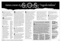 """pagina a pagamento pubblicata su """"Il Messaggero"""" per trovare soldi per la campagna affinchè la Corte Costituzionale non bocci la magior parte dei 20 r"""