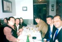 Wei Jingsheng (dissidente cinese) incontra a NY una delegazione del PR composta da Olivier Dupuis (segretario pr), Marco Cappato, Marino Busdachin. We