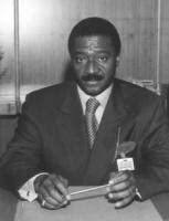 ritratto di Jacques Baudin (ministro della Giustizia, Senegal)