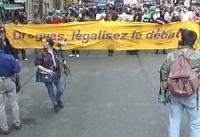 Manifestazione alla fine del IX Cogresso del CORA.