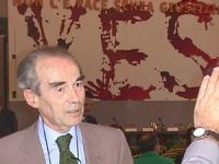 Robert Badinter (ex ministro della Giustizia e Presidente del Consiglio Costituzionale, Francia) alla Conferenza per l'istituzione del Tribunale Penal