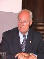 ritratto di Staffan de Mistura (direttore dell'ufficio delle Nazioni Unite per l'Italia, Svezia)